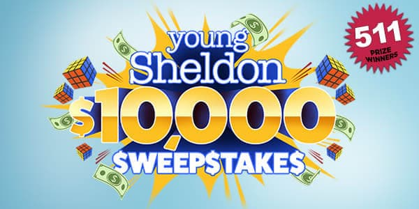 Young Sheldon Sweepstakes Word Of The Day 2021