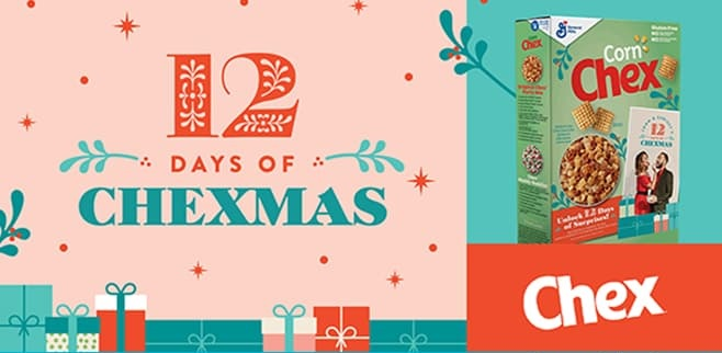 Chex 12 Days of Chexmas Sweepstakes 2021