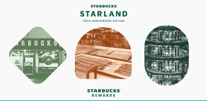 Starbucks Starland Game 2021